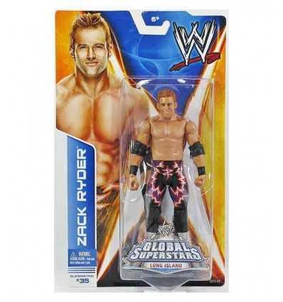 WWE base Action Figure Zack Ryder P9562/BHM14 Mattel- Futurartshop.com