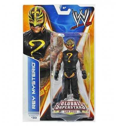 WWE base Action Figure Rey Mysterio P9562/BHM12 Mattel- Futurartshop.com