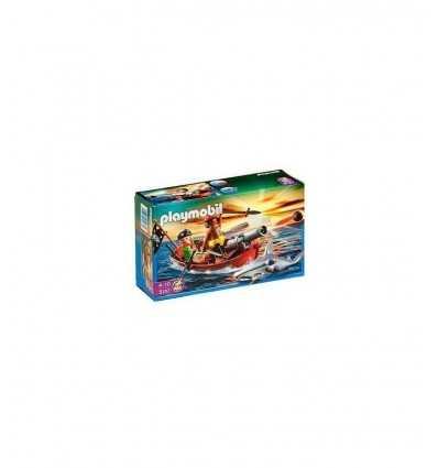Playmobil pirate 5137-Boat with fish hammer 5137 Playmobil- Futurartshop.com
