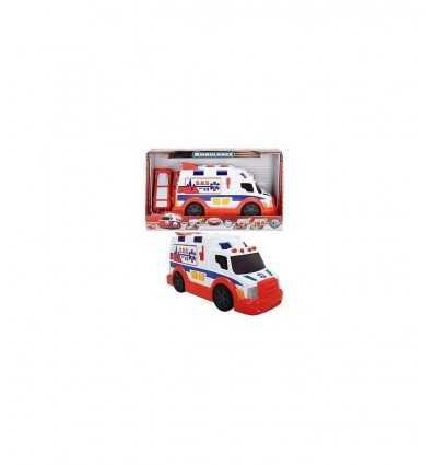 Dicker ambulance série action avec lumières et sons de 33 cm 203308360 Simba Toys- Futurartshop.com