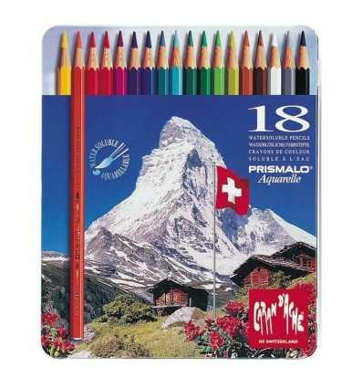 acuarela 18 piezas crayones Caran d ' Ache 999318 Crayola- Futurartshop.com