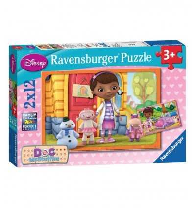 Dr Plush 12 puzzli 07576 Ravensburger- Futurartshop.com