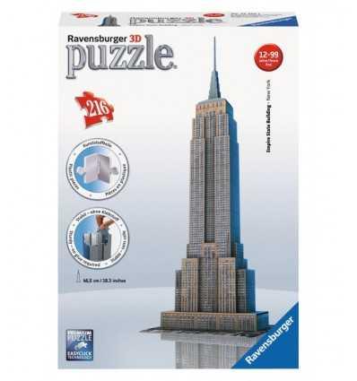 Empire State Building 3D Puzzle 216 Stück 12553 1 Ravensburger- Futurartshop.com