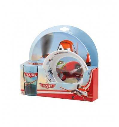 Placas y tazón de aviones 122646 Mattel- Futurartshop.com