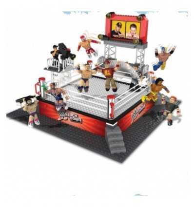 WWE Wrestling pierścień playset budynek stos w dół NCR21031 Giochi Preziosi- Futurartshop.com