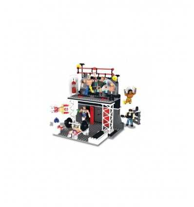 WWE Wrestling down stack construction playset workout NCR21021 Giochi Preziosi- Futurartshop.com