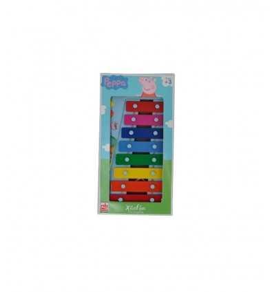 Peppa Pig 8 Notes Xylophone GG00814 Grandi giochi- Futurartshop.com