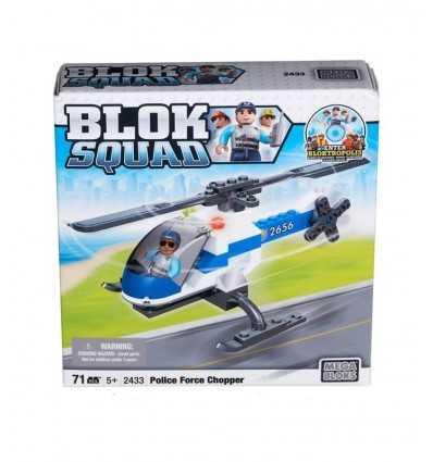 Blok Squad policji chopper 02433 Mega Bloks- Futurartshop.com