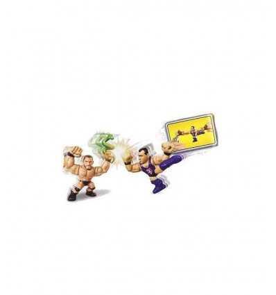 Batalla de Randy Orton WWE Slam City y Santino Marella-dibujos animados BHK83 Mattel- Futurartshop.com