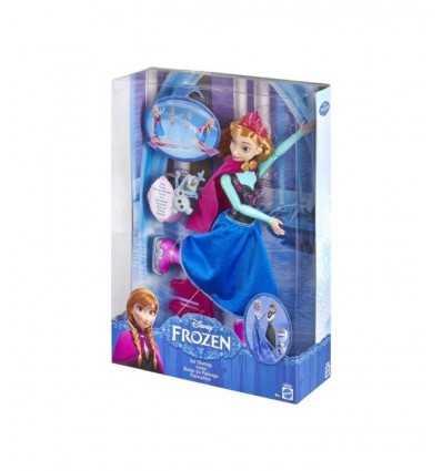 Frozen Bambola Anna che danza sul ghiaccio CBC62 Mattel-Futurartshop.com