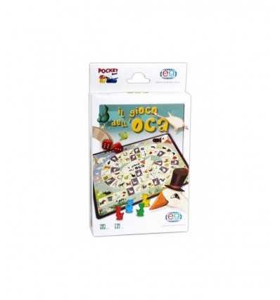 Bolsillo juego Oca nuevo 3121 Editrice Giochi- Futurartshop.com