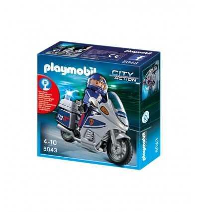 プレイモービル警察バイク 5043 5043 Playmobil- Futurartshop.com