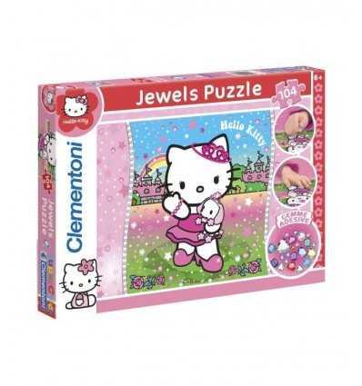Hello kitty puzzle z naklejki 20067 Clementoni- Futurartshop.com