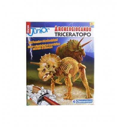 Archeogiocando Triceratopo 13810 Clementoni- Futurartshop.com