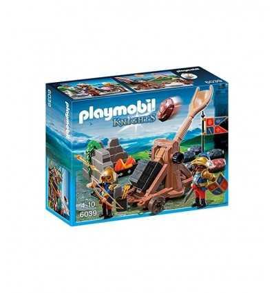 Catapulta de caballeros de León 6039 Playmobil- Futurartshop.com