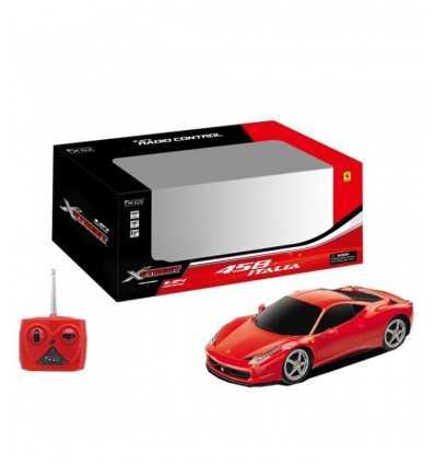 Ferrari 458 Radiocomandata Scala 1:24 20731570 Rocco Giocattoli-Futurartshop.com