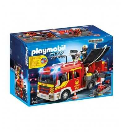 プレイモービル火光と音のトラック火災 5363 5363 Playmobil- Futurartshop.com