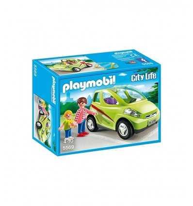 Coche de la ciudad de Playmobil con madre e hija 5569 Playmobil- Futurartshop.com