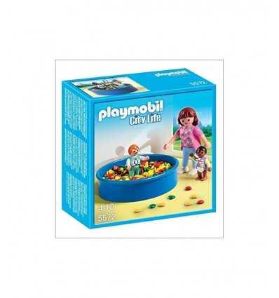 色のボールとプレイモービル浴槽 5572 5572 Playmobil- Futurartshop.com