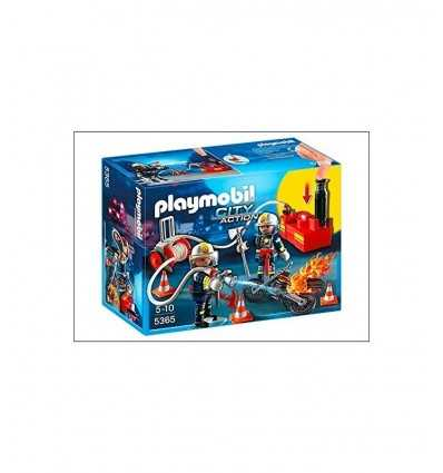 Playmobil firefighters in action 5365 Playmobil- Futurartshop.com