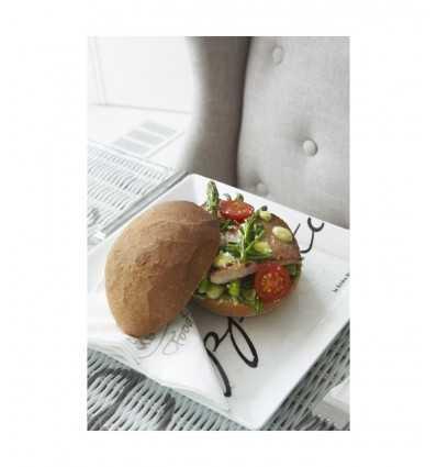 Riviera Maison Бон аппетита квадратных блюдо 164960 Riviera maison- Futurartshop.com