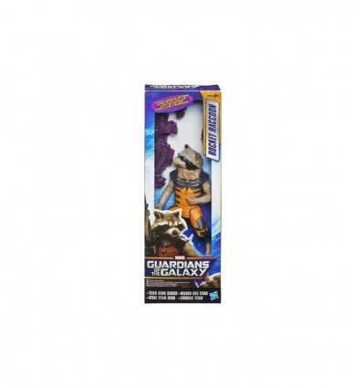 Gardiens des galaxie 30 cm Rocket Raccoon caractères A8474EU40 - Futurartshop.com