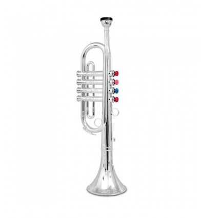 4 notas de trompeta del cromo TR4231/N Bontempi- Futurartshop.com