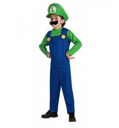 Karneval kostym luigi super mario 1-2 år 883654T Como Giochi - Futurartshop.com