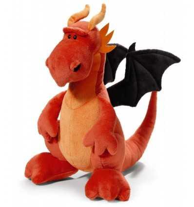 Red Dragon sittande N37470 Nici- Futurartshop.com