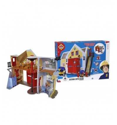 Der Feuerwehrmann Sam-deluxe-Kaserne NCR18252 Giochi Preziosi- Futurartshop.com