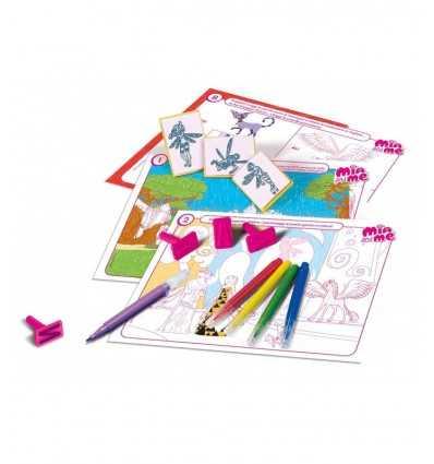 Mia and Me Timbrimpara Lettere e Parole 12033 Clementoni-Futurartshop.com