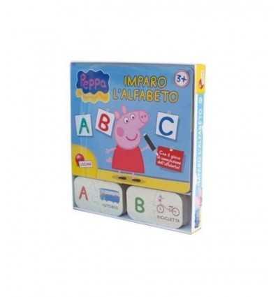 Peppa Pig ich lerne das alphabet Lisciani- Futurartshop.com