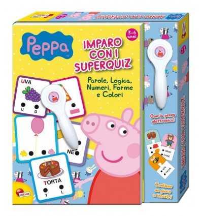 Jag lär dig med super quiz Peppa Pig BIM0002848 Lisciani- Futurartshop.com