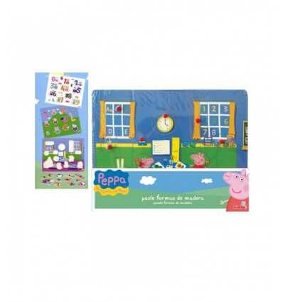 wooden puzzle pieces Peppa Pig. 9392009 Simba Toys- Futurartshop.com