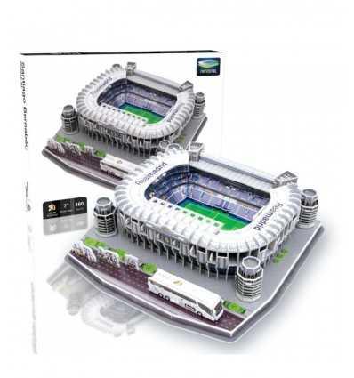 Santiago Bernabeu Stadium Puzzle GPZ1512 Giochi Preziosi- Futurartshop.com
