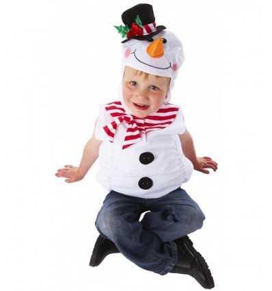 costume bonhomme de neige 1-3 ans CA9585V2 Joker- Futurartshop.com