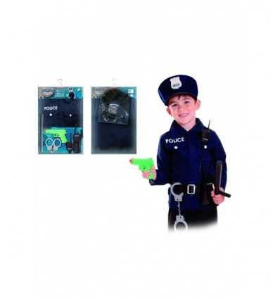 Costume poliziotto bambino CC500005 Joker-Futurartshop.com