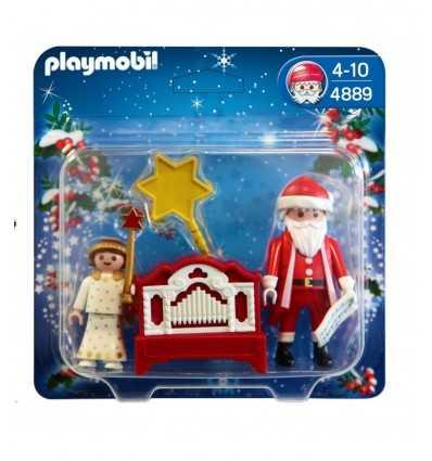 Père Noël avec ange 4889 Playmobil- Futurartshop.com