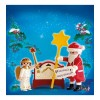 Санта-Клаус с ангелом 4889 Playmobil- Futurartshop.com